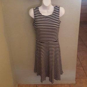 Striped Talbots Dress